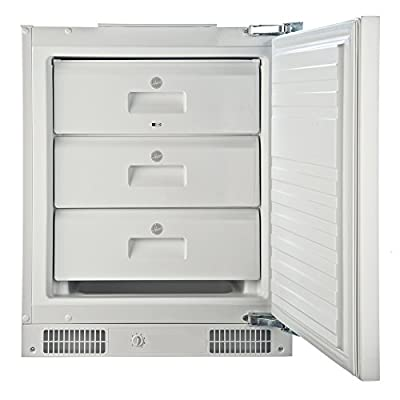 Hoover HBFUP130NK 95 Litre Under Counter Integrated Freezer - White