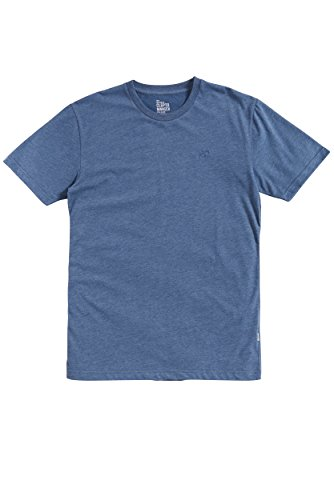 CLEPTOMANICX Herren T-Shirts Ligull Regular Heather / Blue