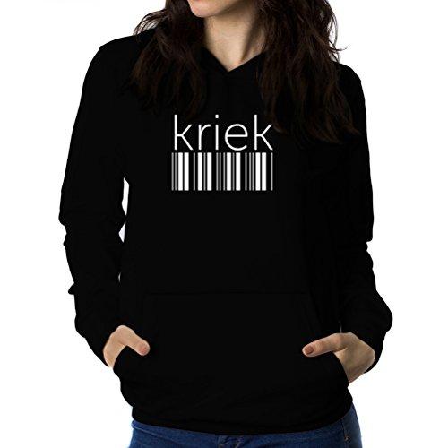 kriek-barcode-sweat-a-capuche-femme