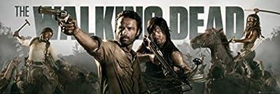 Posters: The Walking Dead Poster de porte - Rick Grimes, Daryl Dixon (158 x 53 cm)