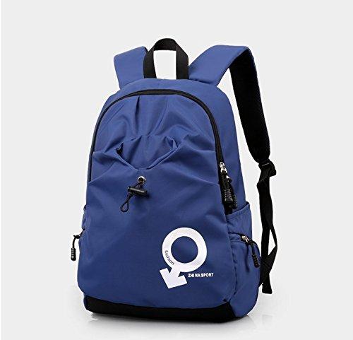 Otomoll Männer Reisen Sport Rucksack Tasche Rucksack Fashion Royal Blue