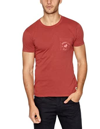 Jack and Jones Corp Printed Men's T-Shirt Baked Apple Small