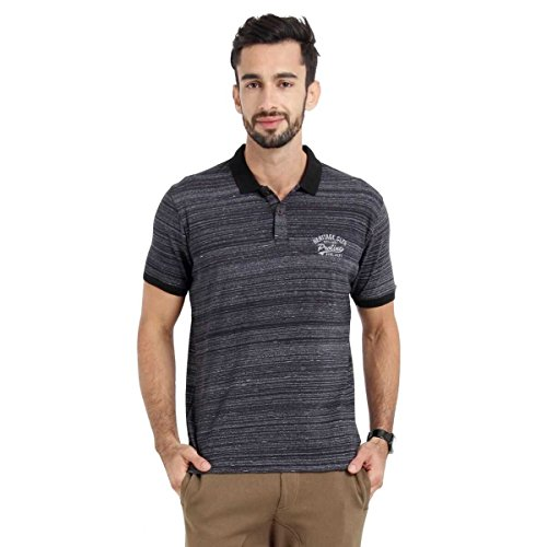 Proline Men's Polo With Denim Look