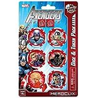 Marvel HeroClix: Avengers Assemble - Dice and Token Pack Captain America