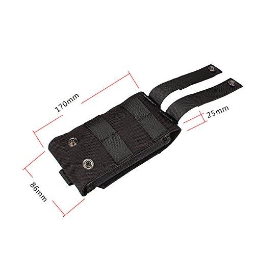 xhorizon Borsa Custodia per Accessorio Pochette Universale per Telefono Armata tactical pouch per iPhone 6/6s 6Plus 7 8 Samsung Galaxy S6 S5 S4 #4