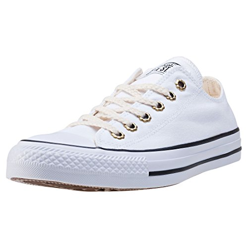 Converse Womens Chuck Taylor All Star Ox Canvas Trainers White