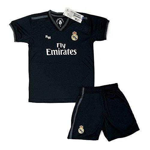 Real Madrid FC Kit Infantil Replica Segunda Equipación 2018 2019 (8 Años) 12192bd274335