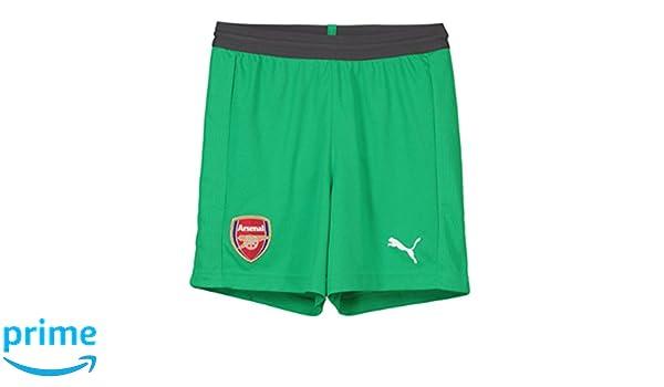 97d03ece2 Puma 2018-2019 Arsenal Away Goalkeeper Shorts (Green) - Kids  Amazon.co.uk   Sports   Outdoors