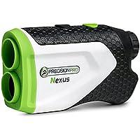 Precision Pro Golf Nexus Laser-Entfernungsmesser–Golf Entfernungsmesser Präzise bis zu 365 Meter (400Yards)–Perfektes Golf-Zubehör