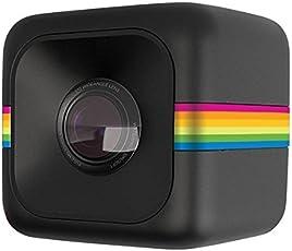 Polaroid Cube+ 1440p Mini Lifestyle Action Kamera mit WI-Fi & Bildstabilisator (Schwarz)