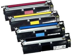 TTRecycling jeu de 4 toners de rechange pour minolta magiColor 2400 2480 w