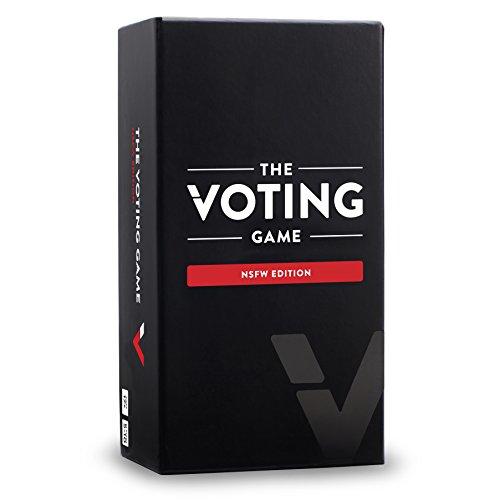The Voting Game NSFW Edition Card Game - The Adult Party Game About Your Friends (Für Heißesten Erwachsene Spiele)