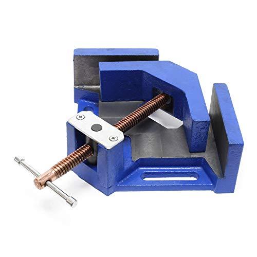Winkelschraubstock 90° Winkelzwinge Gehrungszwinge Winkelspanner Schweißwinkel 100 mm