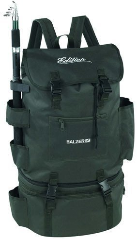 Balzer Fishing Backpack - Angler Rucksack with Cooling...