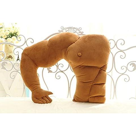 Muscle Man Confortevole Manubrio peluche di cotone