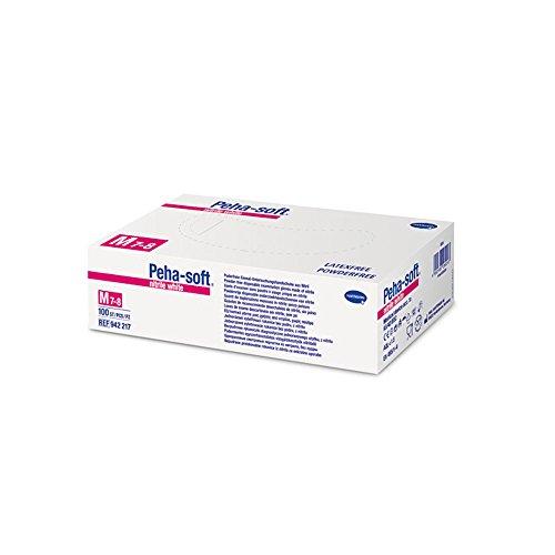 Nitril Handschuhe Peha-soft nitrile white puderfrei Gr. L, 200 Stück