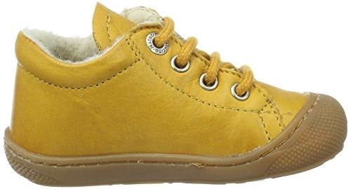 Naturino Unisex Baby 3972 Lauflernschuhe Gelb (Gelb_9107)