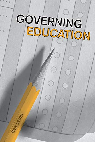 Governing Education (IPAC Series in Public Management and Governance)
