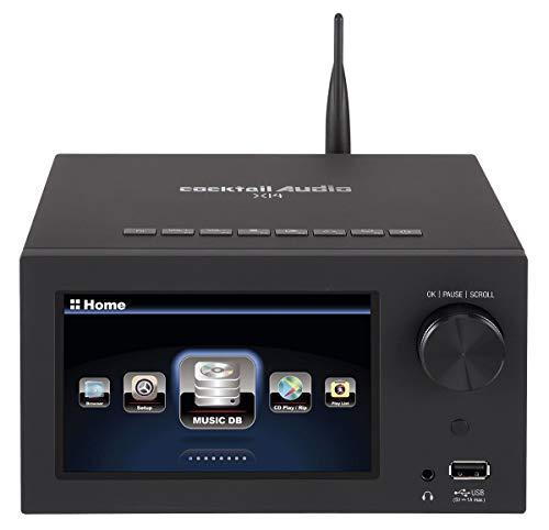 CocktailAudio X14-S1000-b Musikserver und Streamer, inkl. 1TB 2,5 Zoll SSD Schwarz