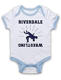 5dc1bf749ed7 Inspired Apparel Inspire par Riverdale Wrestling Team Officieux Bébé  Barboteuse Bodys
