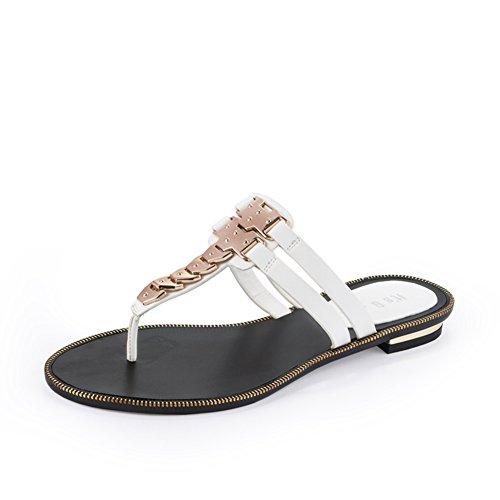 Sandales d'été femmes/Pantoufles féminin casual orteil/Le Lady Sandals B