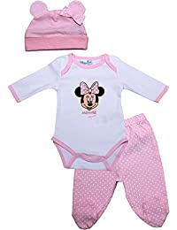74a28ad28e6 Minnie Mouse Grow Top Bottoms and Ears Hat Three Piece Set - Spring Summer  Collection