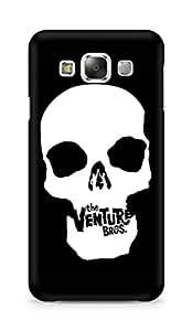 Amez designer printed 3d premium high quality back case cover for Samsung Galaxy E5 (Skull3)