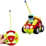 Rabing RC Cartoon Race Car with Action Figure Radio Control Toy with Music