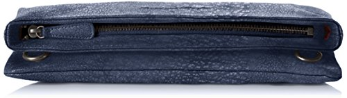 Fritzi aus Preußen Damen Ronja Clas Umhängetaschen, 30x15x3 cm Blau (Jeans-Ku)