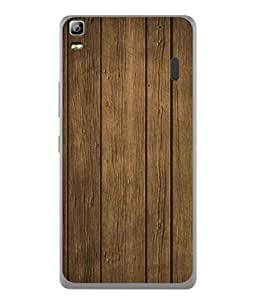 PrintVisa Designer Back Case Cover for Lenovo A7000 (collection of woody straight lines )