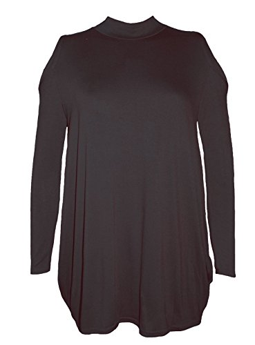 Comfiestyle - Haut de pyjama - Uni - Femme Noir