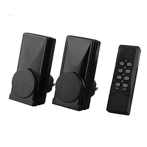 Heitech Funksteckdosen-Set für den Außenbereich, 3-teilig