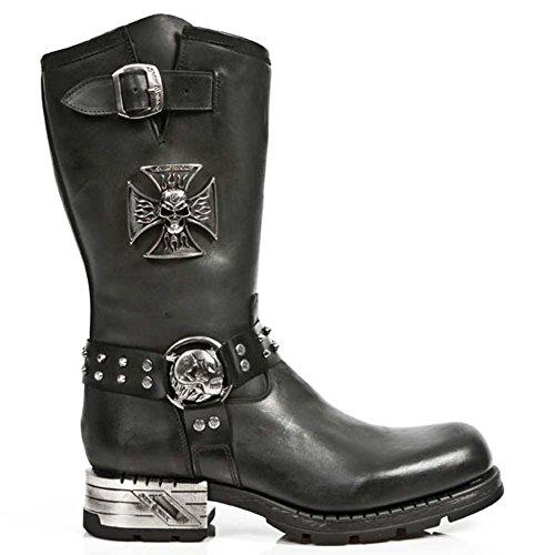 b537d4771ceb8 Smart Range Newrock New Rock M.MR030-S1 Noir Western Cowboy Gothique Biker  Bottes