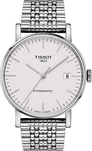 Tissot Everytime Swissmatic Herren-Armbanduhr 40mm Edelstahl T109.407.11.031.00