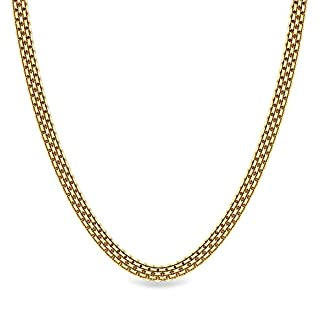 Candere By Kalyan Jewellers Contemporary Collection 22k Yellow Gold Darian Chain Necklace