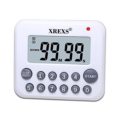 Temporizador de cocina con pantalla grande por sólo 4,54€ usando el #código: XREXS004
