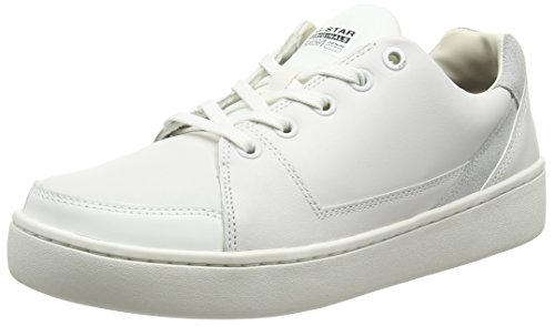 G-Star WOLKER LO, Sneakers Basses femme Blanc (bright white)