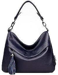 VogueZone009 Donna Shopping Borse di tela cerniere Luccichio Borse a  tracolla 5e795fda2ad