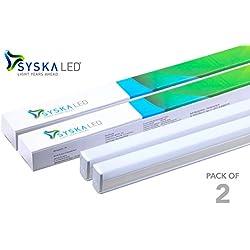 Syska T5 18-Watt LED Tubelight (Pack of 2, Cool White)