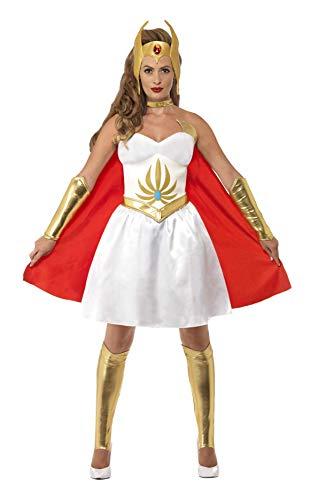 Kostüm Shera - Smiffy's 20566S - She-Ra Latex-Kostümes Kleid Brustkopfstück Arm und Beinwärmer