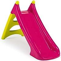 Smoby 310282-Tobogán pequeño XS Verde (2 años), Color Rosa (310282)