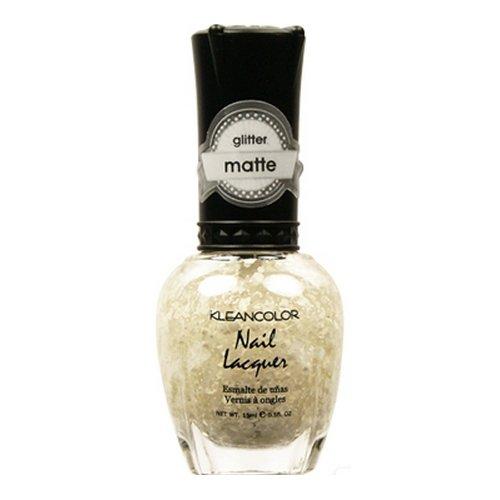KLEANCOLOR Glitter Matte Nail Lacquer - I Do, Romeo