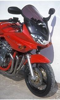 Color : Black Moto Pare-brise en verre avant D/éflecteur Bulle for Suzuki Bandit GSF 600 GSF600 2000-2005 GSF1200 GSF 1200 2001-2005