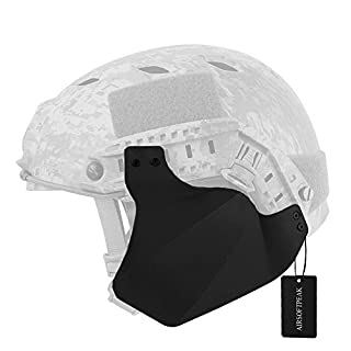 Tactical Airsoft Military Paintball Up-Armor Side Cover Ear Protection Black
