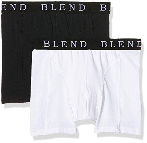 Blend Herren Boxershorts Underwear Mehrfarbig (Black/White 70999)