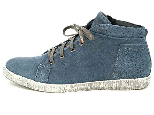 Think Seas 80048-90 Damen Boots & Stiefeletten in Mittel Blau