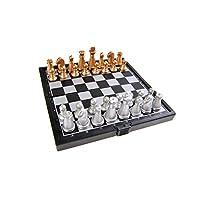 Quantum-Abacus-Magnetisches-Brettspiel-Super-Mini-Reise-Edition-Schach-magnetische-Spielsteine-Spielbrett-zusammenklappbar-128cm-x-128cm-x-1cm-Mod-SC3656-A-DE Quantum Abacus Magnetisches Brettspiel (Super Mini Reise-Edition): Schach – magnetische Spielsteine, Spielbrett zusammenklappbar, 12,8cm x 12,8cm x 1cm, Mod. SC3656-A (DE) -