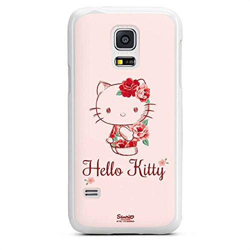 DeinDesign Samsung Galaxy S5 mini Hülle Case Handyhülle Hello Kitty Geschenke Merchandise Roses