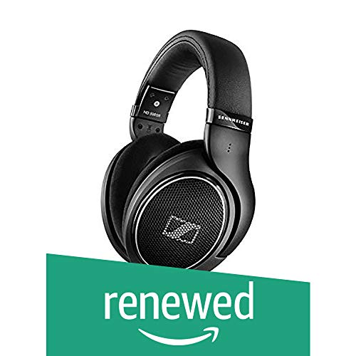 (Renewed) Sennheiser HD 598 SR Open-Back Headphone (Black)