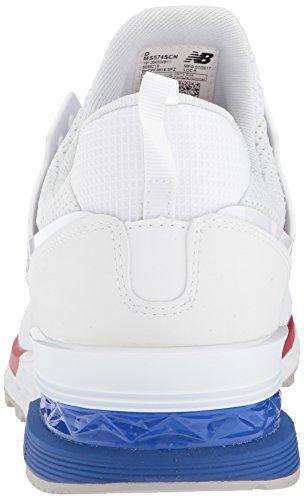 MS574AW - Bianche blanc/bleu